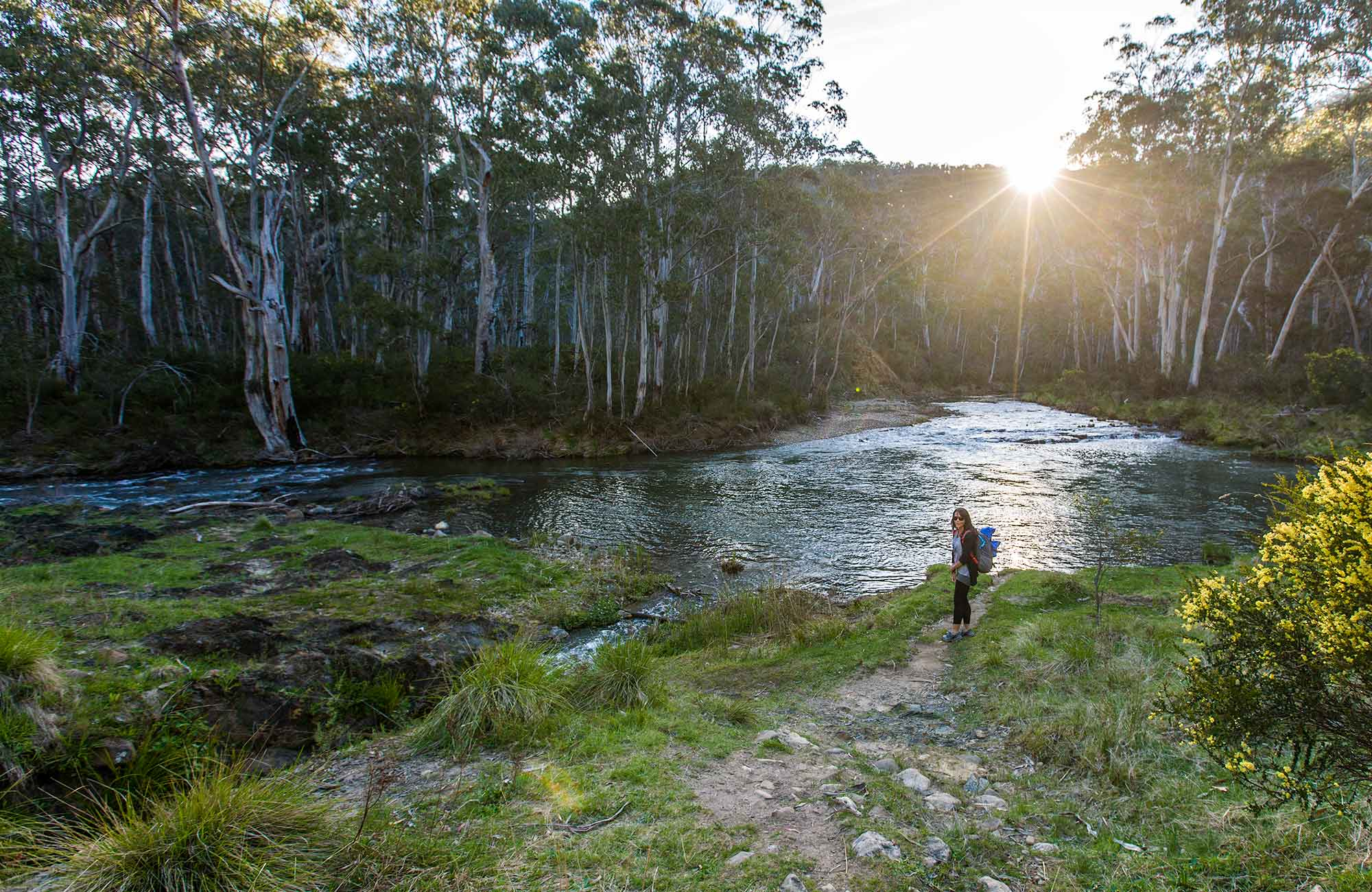 River walk, Kosciuszko National Park Kosciuszko National Park. Photo: Murray Vanderveer