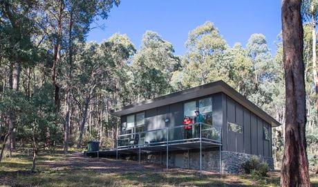 Lyrebird Cottage at Yarrangobilly Caves, Kosciuszko National Park. Photo: Boen Ferguson/OEH.
