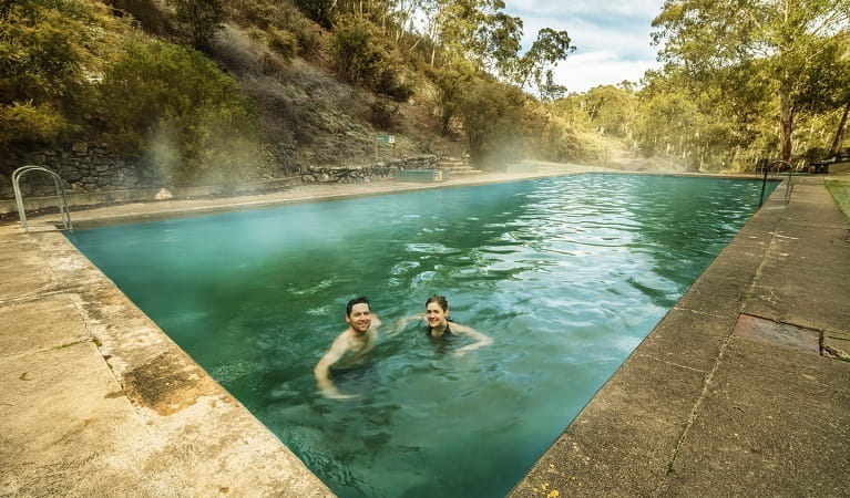 Yarrangobilly thermal pool, Kosiuszko National Park. Photo: Murray Vanderveer/OEH.