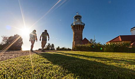 Barrenjoey Lighthouse, Ku-ring-gai Chase National Park. Photo: David Finnegan