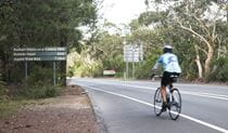 Mount Colah Station to Pymble Station cycle route, Ku-ring-gai Chase National Park. Photo: Andy Richards