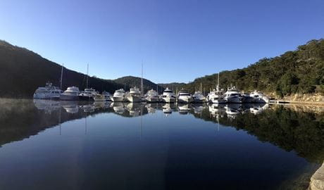 View towards Empire Marina, Ku-ring-gai Chase National Park. Photo: Darren Vaux