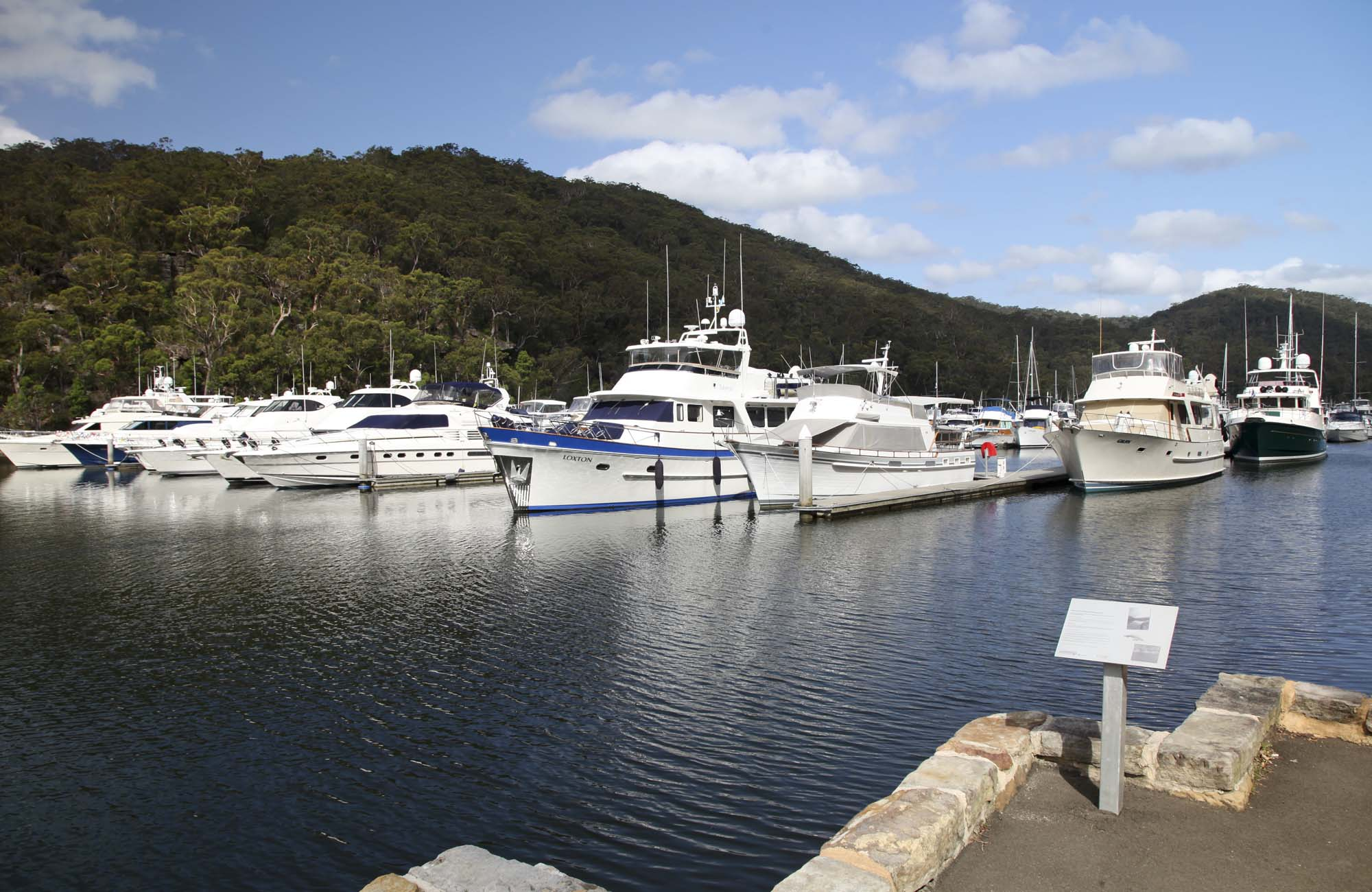 Empire Marina Bobbin Head hero, Ku-ring-gai Chase National Park. Photo: Andrew Richards