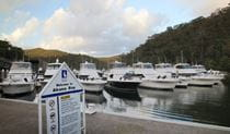 Akuna Bay Marina, Ku-ring-gai Chase National Park. Photo: Andy Richards