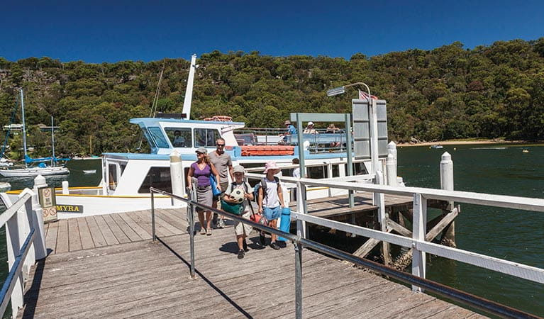 The Basin picnic area, Ku-ring-gai Chase National Park. Photo: David Finnegan/NSW Government