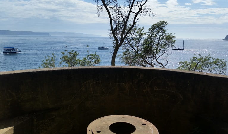 View from the West Head army battery. Photo: Natasha Webb/NPWS