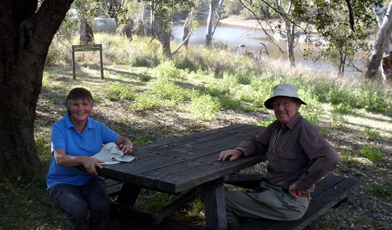 Junction walk, picnic area, Kwiambal National Park. Photo: NSW Government
