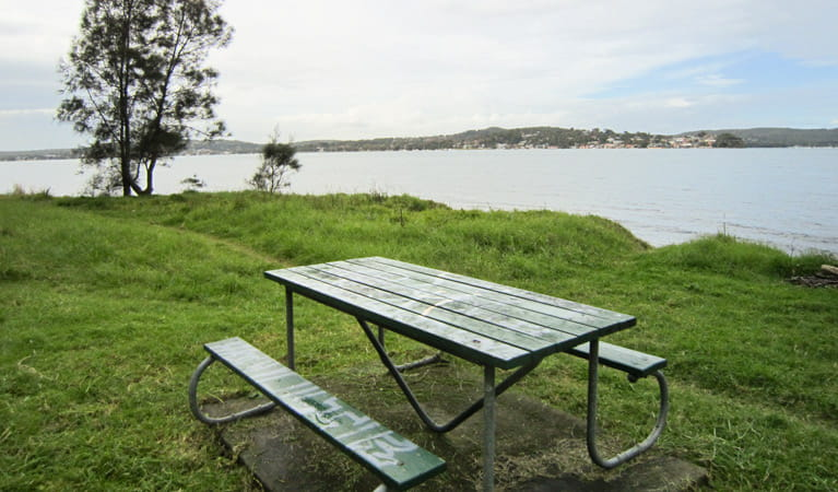 Marmong picnic area, Lake Macquarie State Conservation Area. Photo: Ashley Deveridge