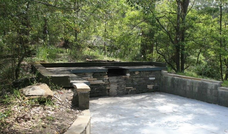 Commandment Rock picnic area shelter, Lane Cove National Park. Photo: Natalie Saville