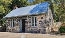 The southern exterior of Jenkins Kitchen, Lane Cove National Park. Photo: Ryan Siddons © DPIE