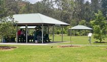 Koonjeree picnic area, Lane Cove National Park. Photo: OEH