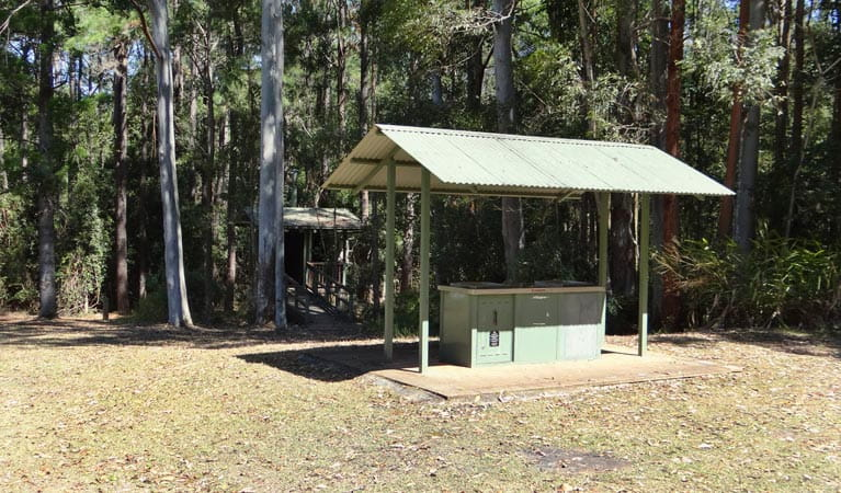 Cutters Camp campground, Mebbin National Park. Photo: D Hofmeyer/NSW Government