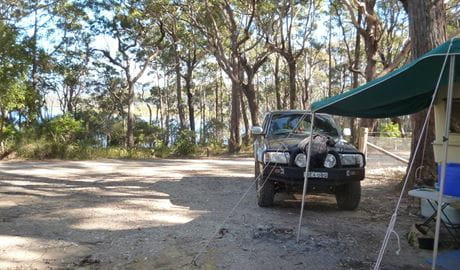 Termeil Point campground. Photo: Meghan Kempster/NPWS