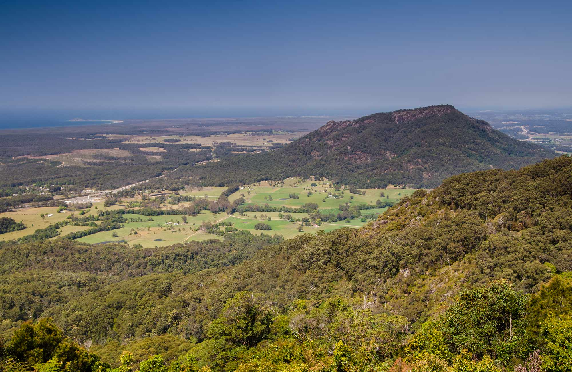 Middle Brother National Park. Photo: John Spencer/NSW Government