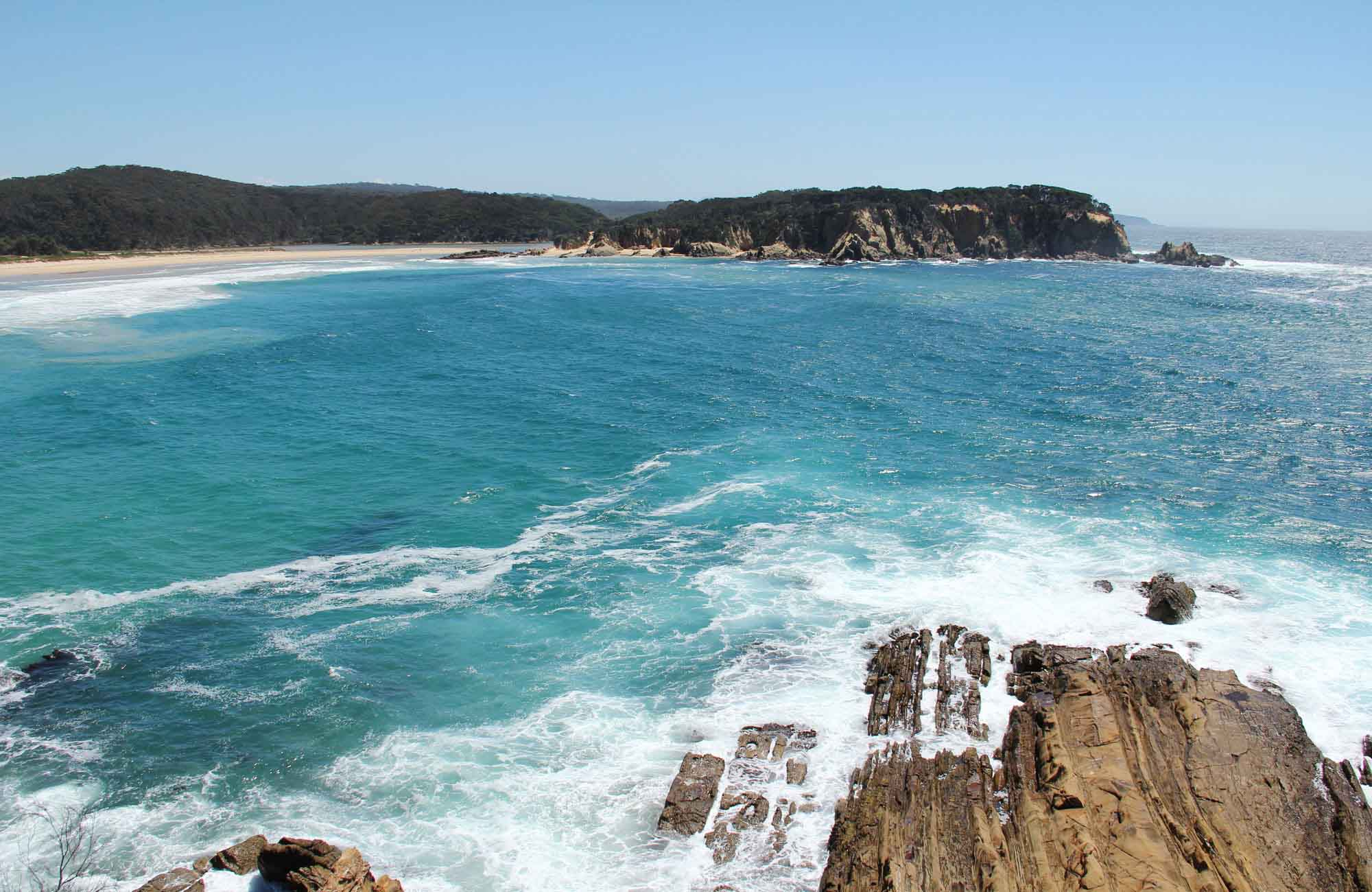 Wajurda Point beach view. Photo: John Yurasek