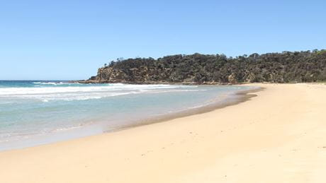 Nelson Beach, Mimosa Rocks National Park. Photo: John Yurasek