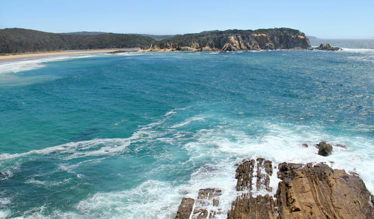 Wajurda Point lookout, Mimosa Rocks National Park. Photo: John Yurasek