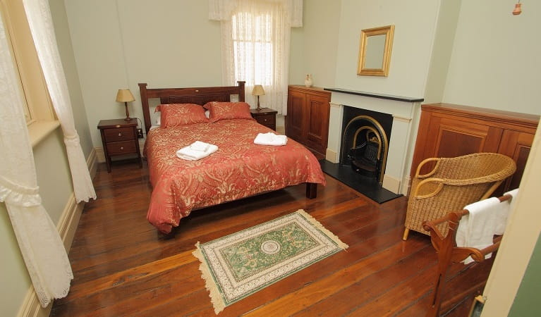 Montague Island Assistant Lighthouse Keepers Cottage bedroom one. Photo: Lucy Morrell