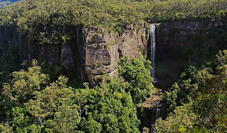 Belmore Falls, Morton National Park. Photo: John Yurasek/OEH
