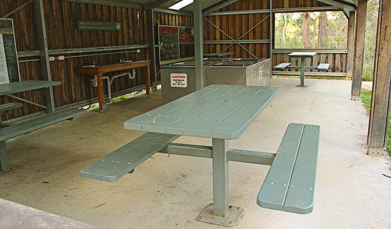 Facilities at the Gambells Rest campground. Photo: John Yurasek Copyright:NSW Government