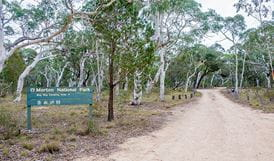 Wog Wog campground, Morton National Park. Photo: Michael van Ewijk