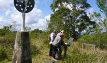 Summit walking track, Mount Hyland Nature Reserve. Photo: H Clark