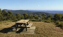 Vista Point picnic area, Mount Hyland Nature Reserve. Photo: Shane Ruming