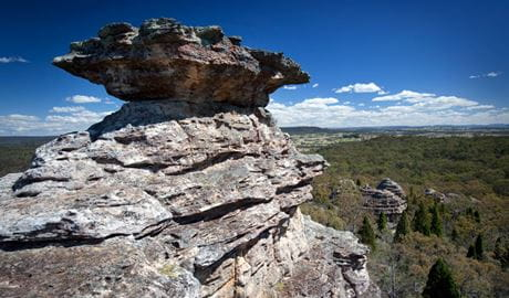Castle Rocks walking track, Munghorn Nature Reserve. Photo: Nick Cubbin/NSW Government
