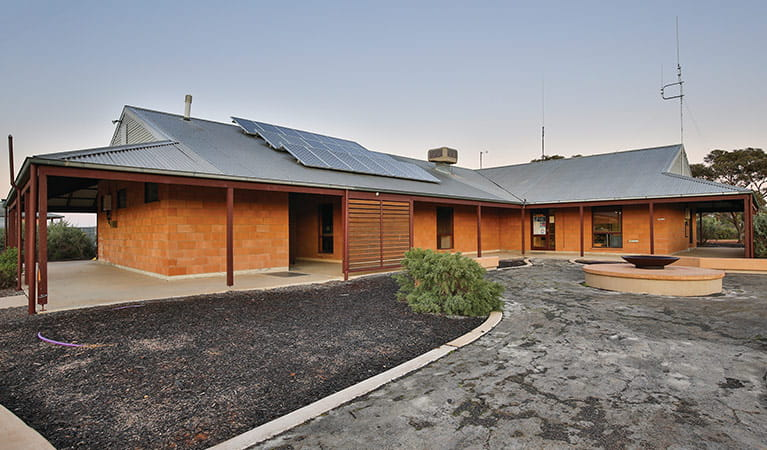 External view of Mungo Visitor Centre in Mungo National Park. Vision House Photography/OEH