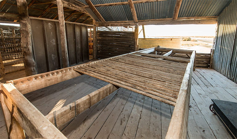 Mungo Woolshed, Mungo National Park. Photo: John Spencer/NSW Government