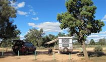 Main Camp campground, Mungo National Park. Photo: Wendy Hills/NSW Government