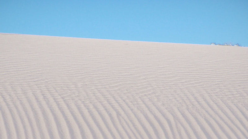 Fine lines in the sand dunes, Mungo National Park. Photo: OEH