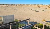 Walls of China Viewing Platform, Mungo National Park. Photo: Wendy Hills/NSW Government