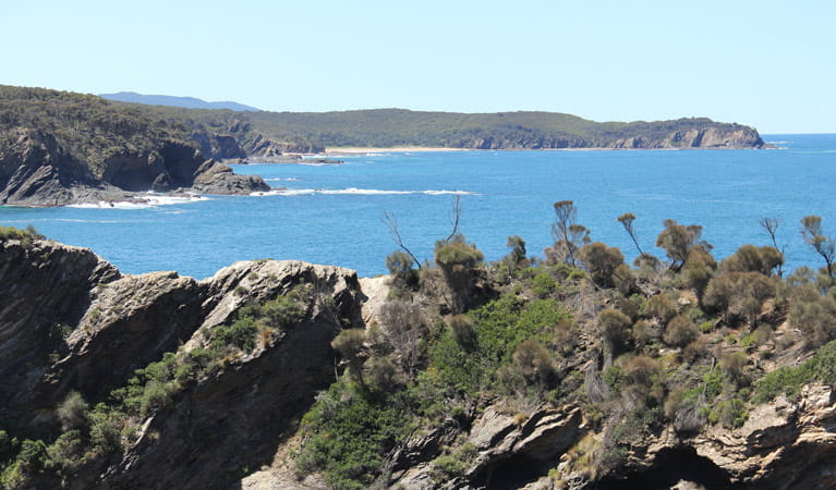 Coastal view, Murramarang National Park. Photo: John Yurasek