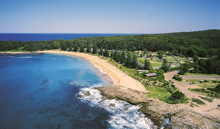 NRMA Murramarang Beachfront Nature Resort, Murramarang National Park. Photo: Jonathan Poyner