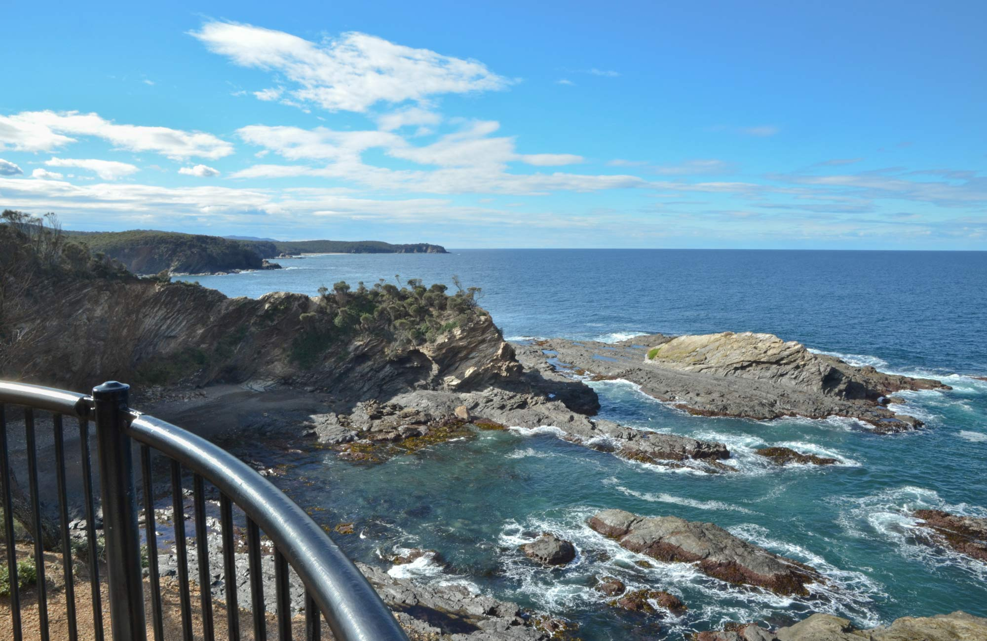 North Head lookout, Murramarang National Park. Photo: M Jarmon