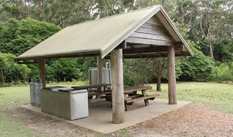 Pebbly Beach picnic area, Murramarang National Park. Photo: John Yurasek