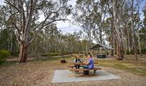 Edward River Bridge picnic area, Murray Valley National Park. Photo: Gavin Hansford
