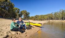 Middle Beach, Murrumbidgee Valley National Park. Photo: Gavin Hansford