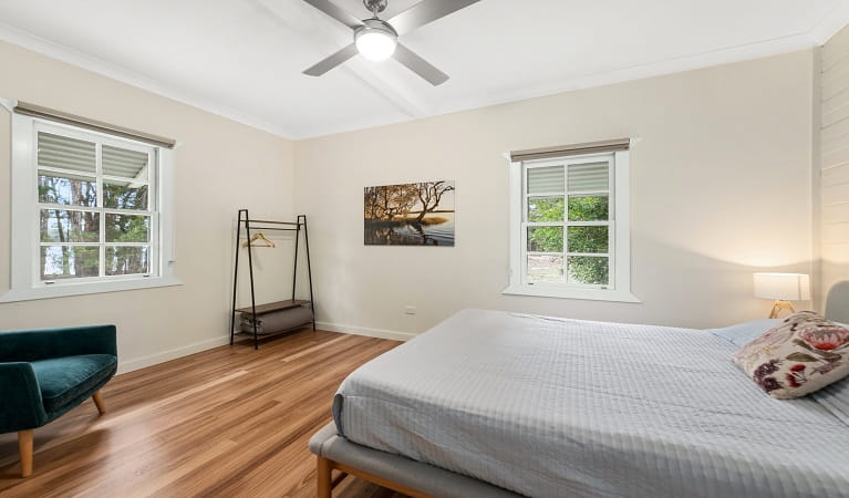 Cutlers Cottage, Myall Lakes National Park. Photo: Michael van Ewijk/NSW Government