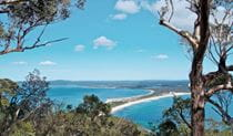 Yacaaba Headland walking track sea view, Myall Lakes National Park. Photo: John Spencer