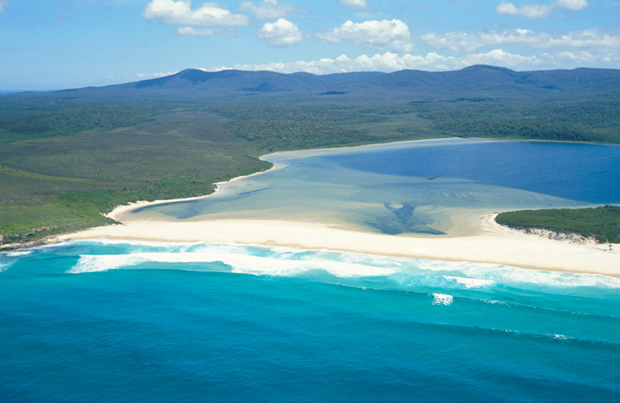 Nadgee shore, Nadgee Nature Reserve. Copyright: NSW Government.