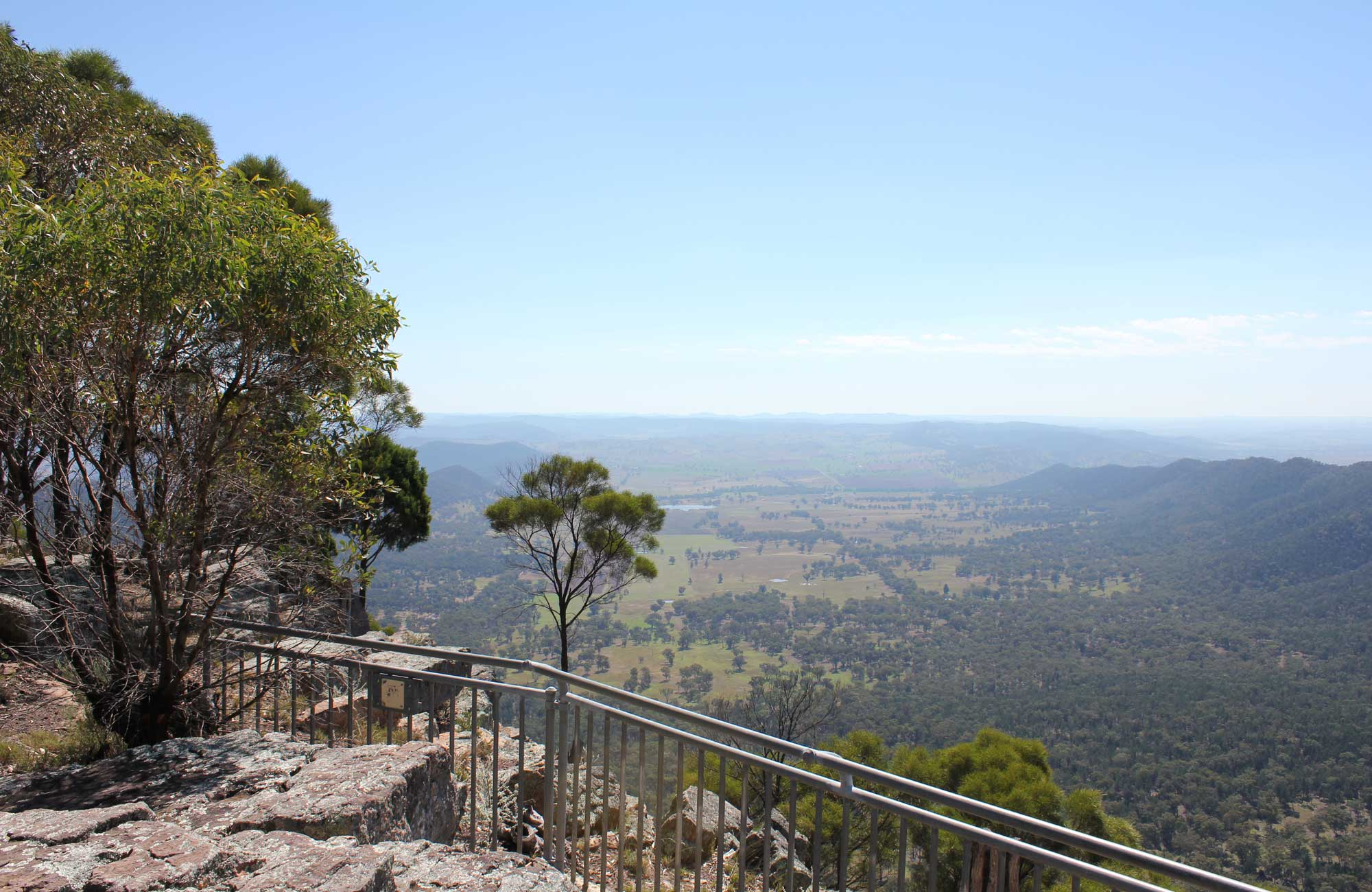 Mount Nangar lookout, Nangar National Park. Photo: K Edwards/NSW Government