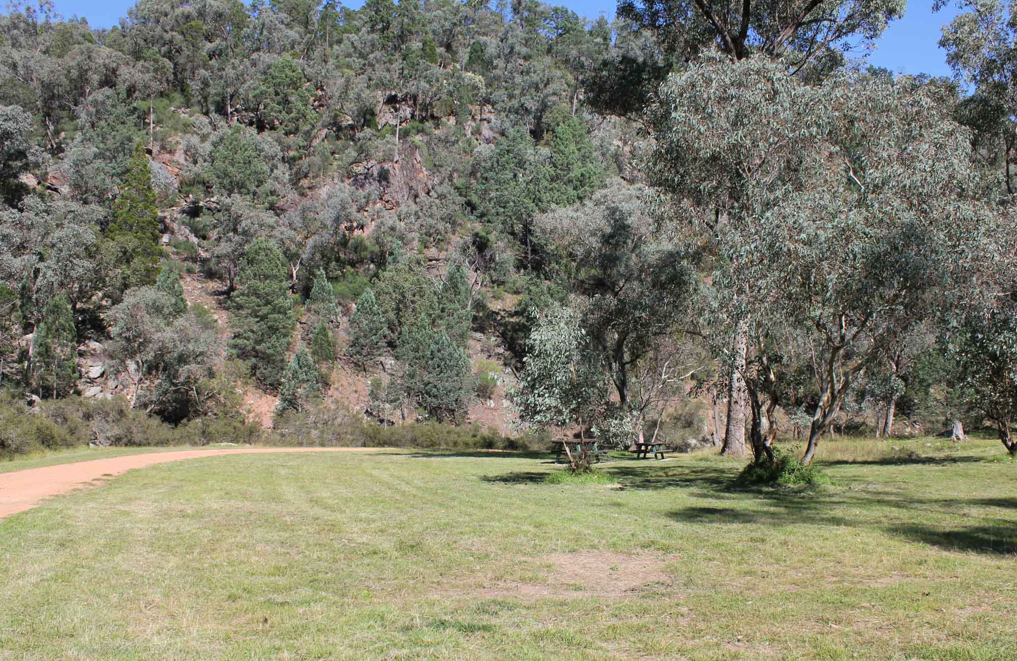 Terrara Creek campground and picnic area, Nangar National Park. Photo: K Edwards/NSW Government