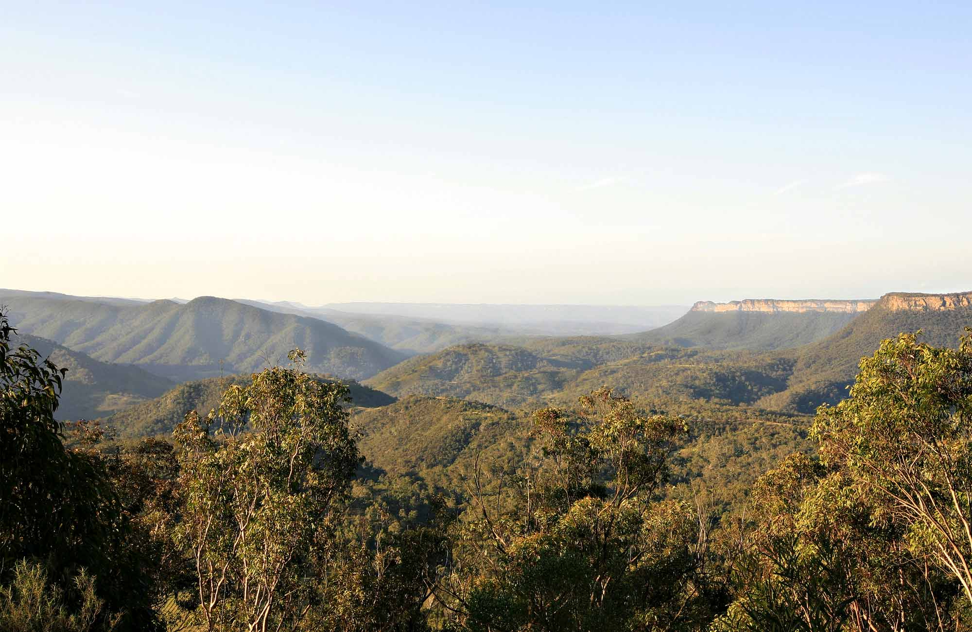 Wollondolly lookout, Nattai National Park. Photo: Rosie Nicolai