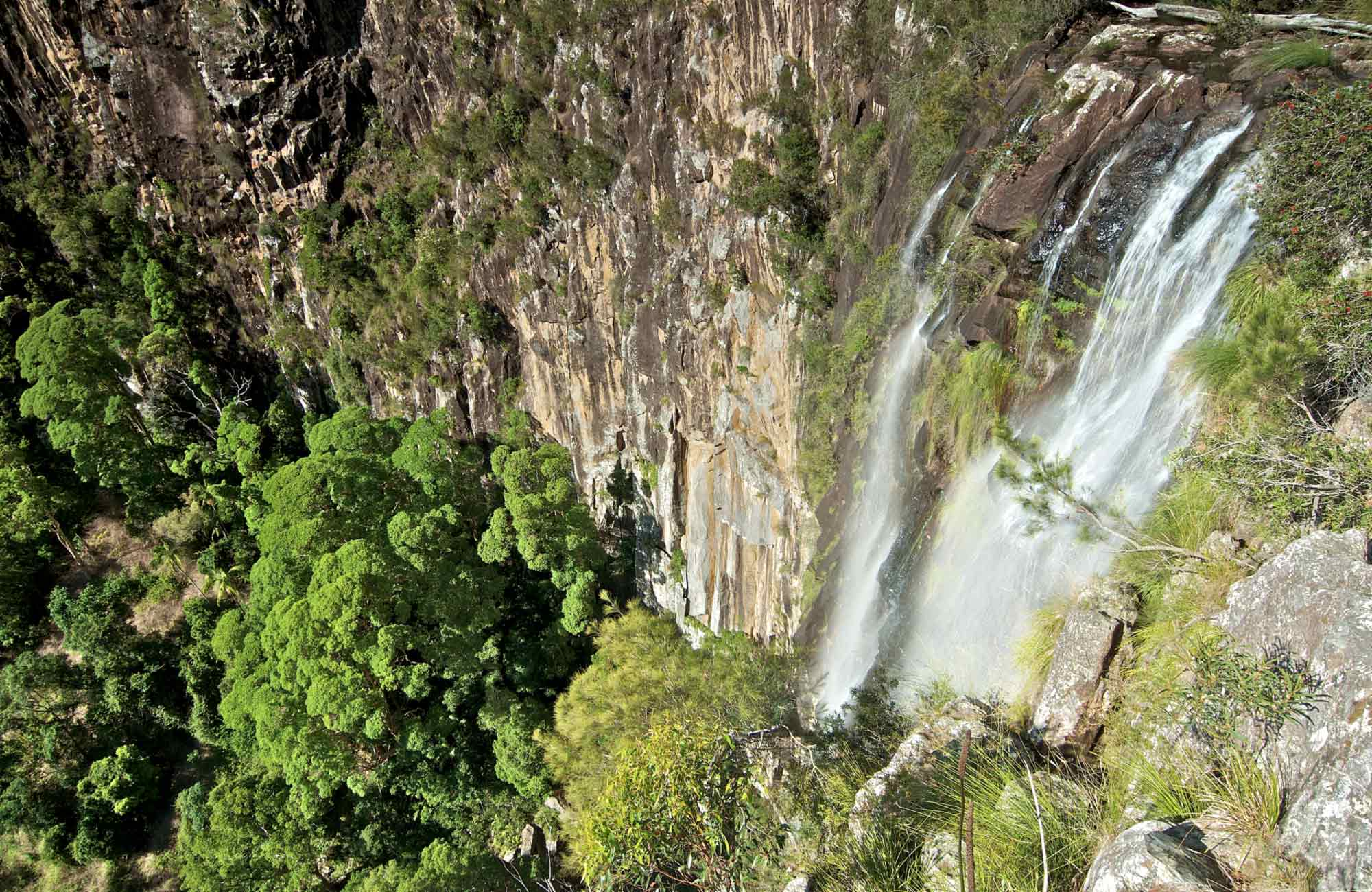 Minyon Falls, Nightcap National Park. Photo: John Spencer