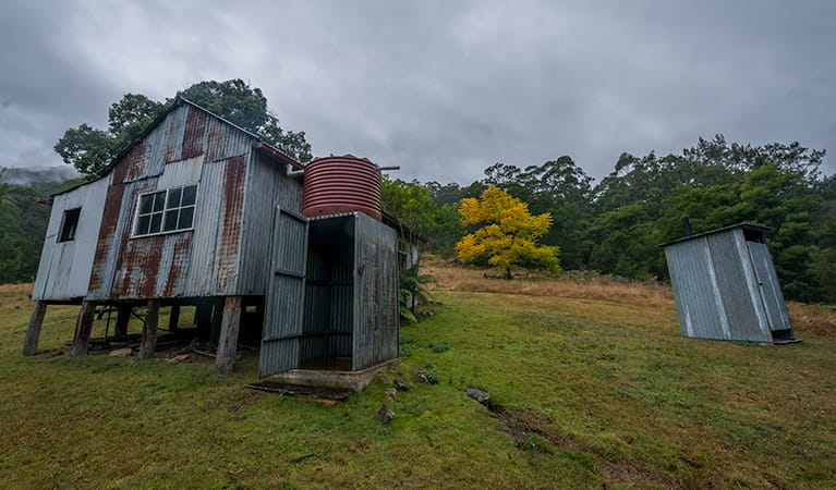 Pastoral building, Nowendoc National Park. Photo: John Spencer