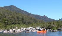 Canoeing, Nymboida National Park. Photo: D Parkin