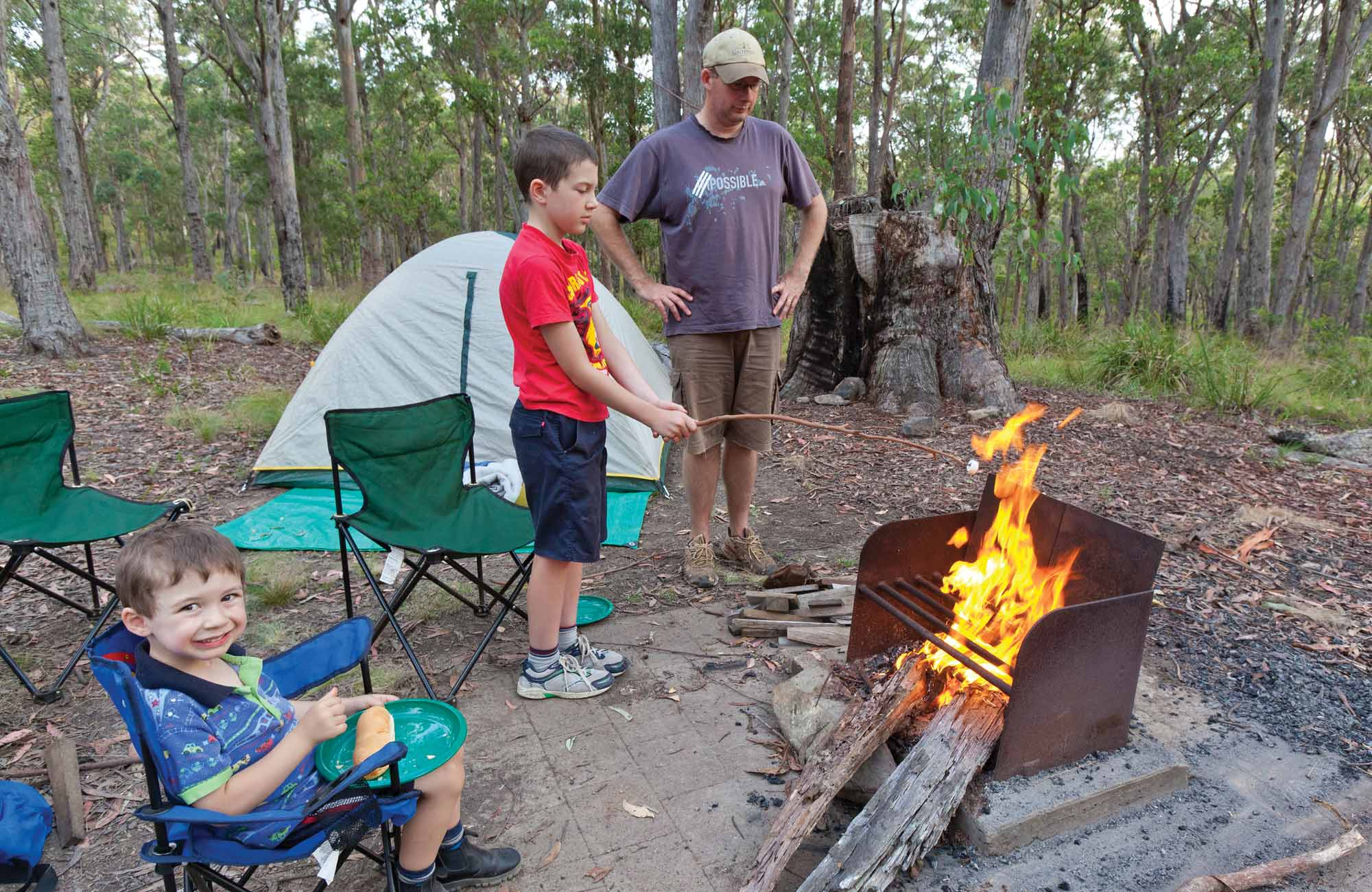 Long Point Campground, Oxley Wild Rivers. Photo: Rob Cleary