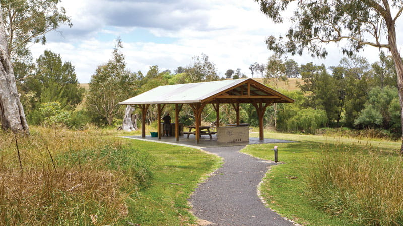 Gara Gorge picnic area, Oxley Wild Rivers National Park. Photo: Rob Cleary
